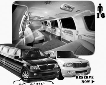 Navigator SUV Limousine for rental